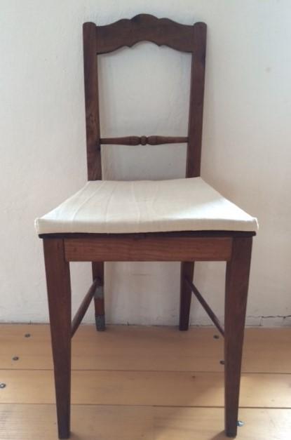 Leinen-Stuhlpolster