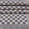 Leinen-Geschirrtuch 096, Grubentuch, blaugrau. Antik, Leinen-Handtuch