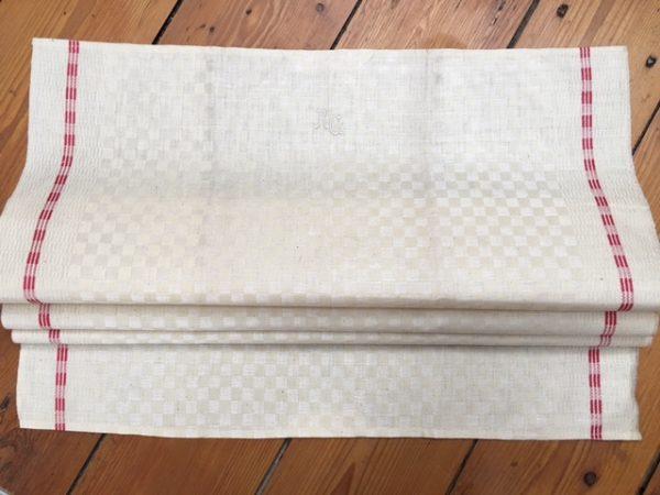 Leinen-Handtuch Würfel 839. Leinen Geschirrtuch, Tischläufer