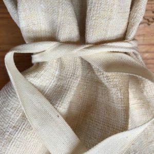 Leinen-Brotbeutel mit Baumwollband | 2066