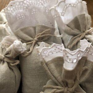 Lavendel-Säckchen mit Spitze | 2224