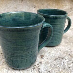 2 Becher dunkelgrün | K 1