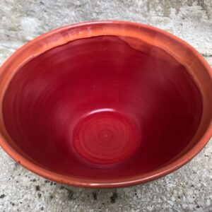 Schale rot-orange | K 20