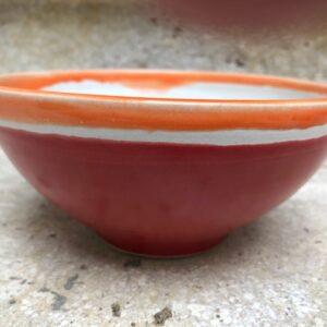 Schale rot-orange | K 19
