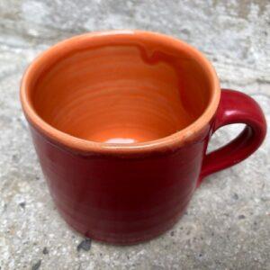 Becher rot-orange | K 16