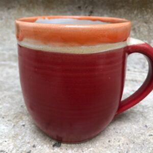 Becher rot-orange | K 18